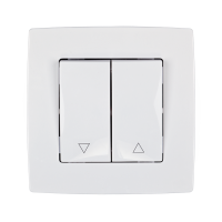 CITY CURTIAN CONTROL SWITCH WHITE