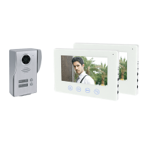 WIFI SMART VIDEO DOOR PHONE WITH TWO MONITORS