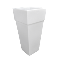 LED FLOWER POT NICE 105 IP65 WHITE