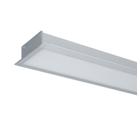 HIGH POWER LED PROFILE RECESSED S48 20W 4000K GREY